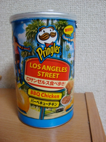 Los Angeles BBQ Chicken Pringles